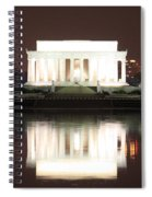Early Washington Mornings - Lincoln Reflecting Spiral Notebook