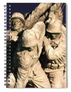 Early Washington Mornings - Team Iwo Jima Spiral Notebook