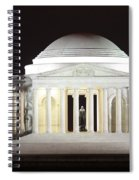 Early Washington Mornings - The Jefferson Memorial Spiral Notebook