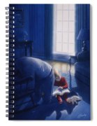 Early Will I Seek Thee Spiral Notebook