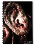 Ears And Meat Hooks  Spiral Notebook