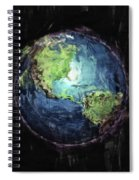 Earth And Space Spiral Notebook