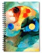 Earth Balance - Yin And Yang Art Spiral Notebook