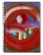 Earth Button Spiral Notebook