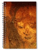 Earth Face Spiral Notebook
