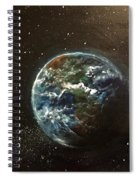 Earth From Above  Spiral Notebook