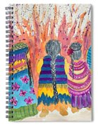 Earth Mothers - Feeding  The Fire Spiral Notebook