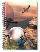 Earth Pearls Spiral Notebook