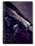 Earth Rise On The Moon Spiral Notebook