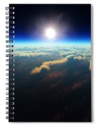 Earth Sunrise From Outer Space Spiral Notebook