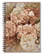 Earth Toned Roses Spiral Notebook