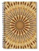 Earth Tones - Mandala Spiral Notebook
