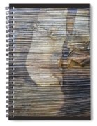 Earthquake Distortion   Spiral Notebook
