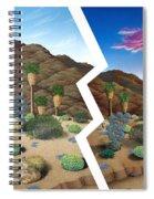 Earthquake Spiral Notebook
