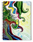 Earths Tears Spiral Notebook