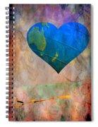 Earthy Heart Spiral Notebook