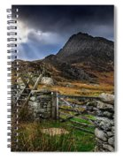East Face Tryfan Snowdonia Spiral Notebook