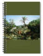 East Landscape Henryk Semiradsky Spiral Notebook