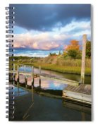 East Moriches Reflections Spiral Notebook