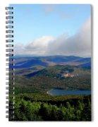 East Of Blue Spiral Notebook