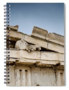 East Pediment - Parthenon Spiral Notebook