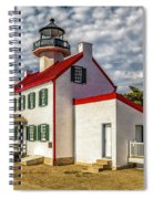 East Point Light -renovated Spiral Notebook