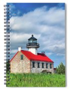 East Point Lighthouse Nj Spiral Notebook