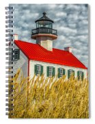 East Point On The Maurice River  Spiral Notebook