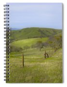 East Ridge Trail Barbed Wire Spiral Notebook