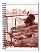 East River Lovers Spiral Notebook
