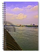 East River View Looking North Spiral Notebook