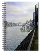 East River View Looking South Spiral Notebook