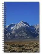 East Side Sierra Nevada Range Spiral Notebook
