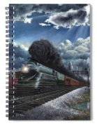 Eastbound Broadway Limited Spiral Notebook