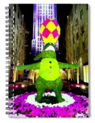 Easter Abstract Spiral Notebook