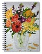 Easter Arrangement Spiral Notebook