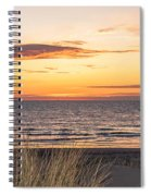 Easter Beach Light Spiral Notebook