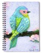 Easter Bird Spiral Notebook