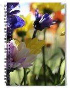 Easter Bouquet  Spiral Notebook