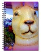 Easter Bunny Bouquet Spiral Notebook