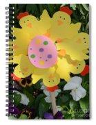 Easter Chick Decoration Spiral Notebook