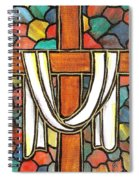 Easter Cross 6 Spiral Notebook