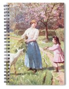 Easter Eggs In The Country Spiral Notebook