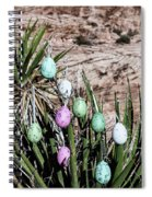 Easter Eggs On The Tree Spiral Notebook