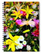 Easter Flowers Spiral Notebook