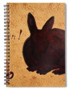 Easter Golden Egg And Chocolate Bunny Spiral Notebook