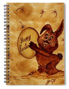 Easter Golden Egg For You Spiral Notebook