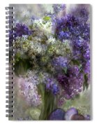 Easter Lilacs Spiral Notebook
