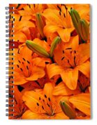 Easter Lilies Spiral Notebook