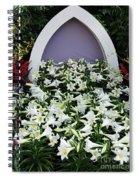 Easter Lillies Spiral Notebook